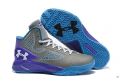 UA ClutchFit Drive II Grey Purple Blue