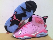 Perfect Air Jordan 6 Women Limited Edition Hello Kitty