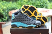Air Jordan 13 Black Light Green Golden