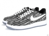 AAA Nike Lunar Force 1 Low Weave Grey White
