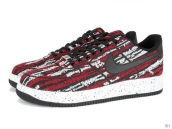 AAA Nike Lunar Force 1 Low Weave Red Black