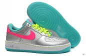 AAA Nike Air Force 1 Low Women Silvery Light Green Red