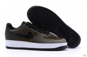 AAA Nike Air Force 1 Low Women Brown Black White