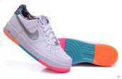 AAA Nike Air Force 1 Low Women Rainbow White Pink Orange Green