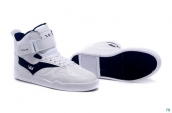 Supra Bleeker Women White Navy Blue