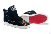 Supra Bleeker Women Black Colorful