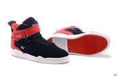 Supra Bleeker Women Black Red White