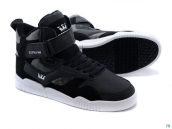 Supra Bleeker Women Dark Grey Black White