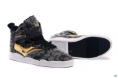 Supra Bleeker Women Dark Grey Golden Black White