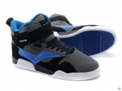 Supra Bleeker Women Grey Black Blue White