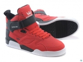 Supra Bleeker Women Red Black White