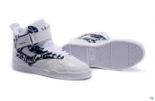 Supra Bleeker Women White Blue White