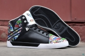 Adidas Attitude Vulc Big Logo Black White Colorful