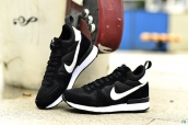 Nike Internationalist Leather High Black White