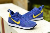 Nike Internationalist Leather High Blue Yellow