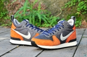 Nike Internationalist Leather High Dark Grey Orange Blue White
