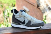 Nike Internationalist Leather High Dark Grey White Black