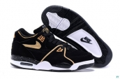 Air Flight 89 Women Black Golden White