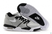 Air Jordan Flight 89 Grey Black White