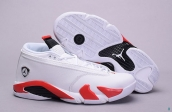 Air Jordan 14 Low AAA White Red