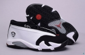 Air Jordan 14 Low AAA White Black