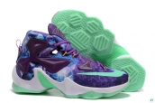 Nike Lebron 13 AAA A Special Medal Purple Blue Green White