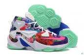 Nike Lebron 13 AAA A Special Medal White Blue Red Green