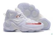 Nike Lebron 13 AAA A Special Medal White Red