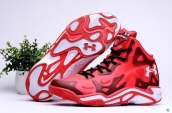 Under Armour Micro G Anatomix Spawn 2 Red White Wine Red
