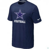 Men's Dallas Cowboys Nike Cardinal Facility TShirt D-Blue