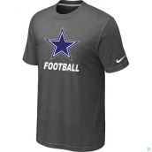 Men's Dallas Cowboys Nike Cardinal Facility TShirt D-Grey