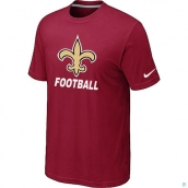 Men's New Orleans Saints Nike Cardinal Facility TShirt Red