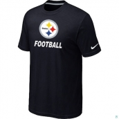 Men's Pittsburgh Steelers Nike Cardinal Facility TShirt Black
