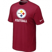 Men's Pittsburgh Steelers Nike Cardinal Facility TShirt Red