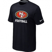 Men's San Francisco 49ers Facility TShirt Black