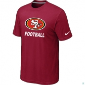 Men's San Francisco 49ers Facility TShirt Red