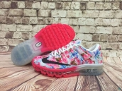 Women Air Max 2016 AAA Pink White Black
