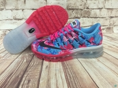 Women Air Max 2016 AAA Blue Pink Black