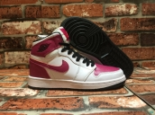 Perfect Air Jordan 1 Women Spirit Fuchsia