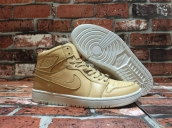 Super Perfect Air Jordan 1 Pinnacle Vachetta Tan