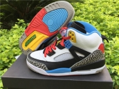 Super Perfect Nike Air Jordan 3-5 Spizike White Grey Blue Red Black 350