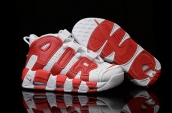 AAA Air More Uptempo Red White