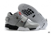 Air Trainer Cruz Shoes Leather Grey Black Red