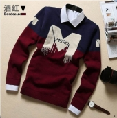 Armani Sweater Blue Red White
