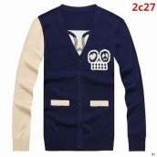 Givenchy Sweater Navy Blue White