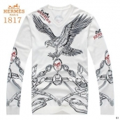 Hermes Sweater White Grey
