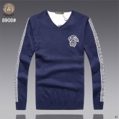 Versace Sweater Blue White