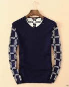 Versace Sweater Navy Blue