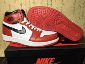 Air Jordan 1-5 AAA White Red Black