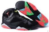Perfect Air Jordan 7 US14 US15 US16 Black Pink Green
